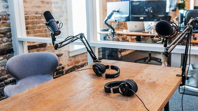 Huur apparatuur voor podcast