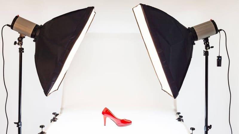 Huur apparatuur voor productfotografie