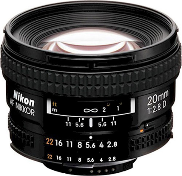 Rent a Nikkor 20 mm f2,8 in Wassenaar from Damon