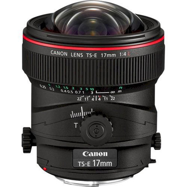 Rent a Canon TS-E 17mm F/4.0 L Tilt-shift Lens in Amsterdam from Sonia