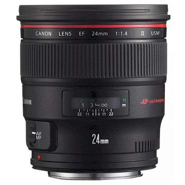 Rent a Canon EF 24mm f/1.4L USM II in Breda from Goose Frame