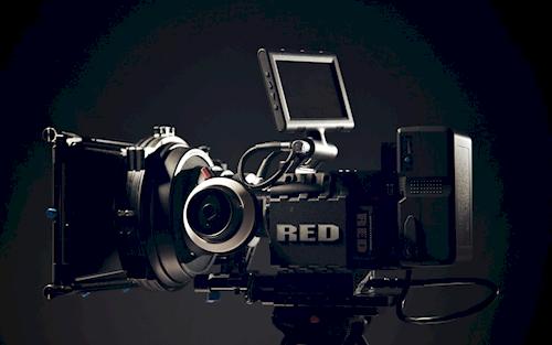Huur Red Scarlet MX set van David