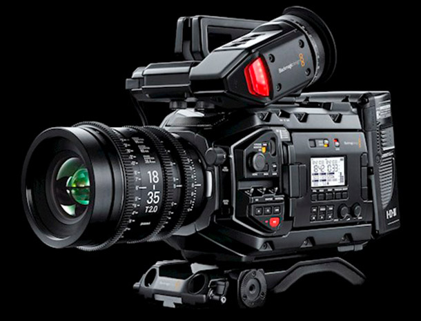Rent a Blackmagic URSA mini PRO 4.6K EF in Amsterdam, Amsterdam-West from Van Vinh