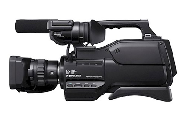Rent a Sony HXR MC-2000e schoudercamera in Veldhoven from Mike