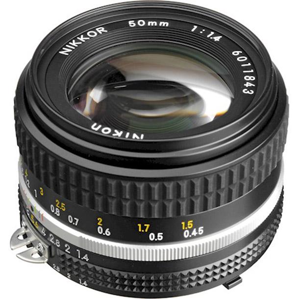 Huur Nikon NIKKOR 50mm f/1.... van Jeroen