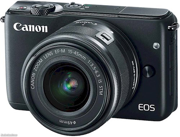 Rent a EOS M10 canon in Rotterdam from Joshua