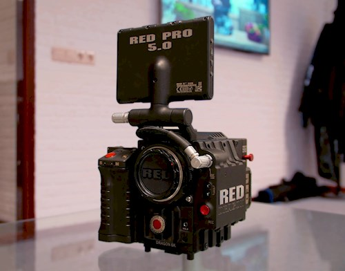 Rent a RED EPIC DRAGON 6K in Hengelo from Bas