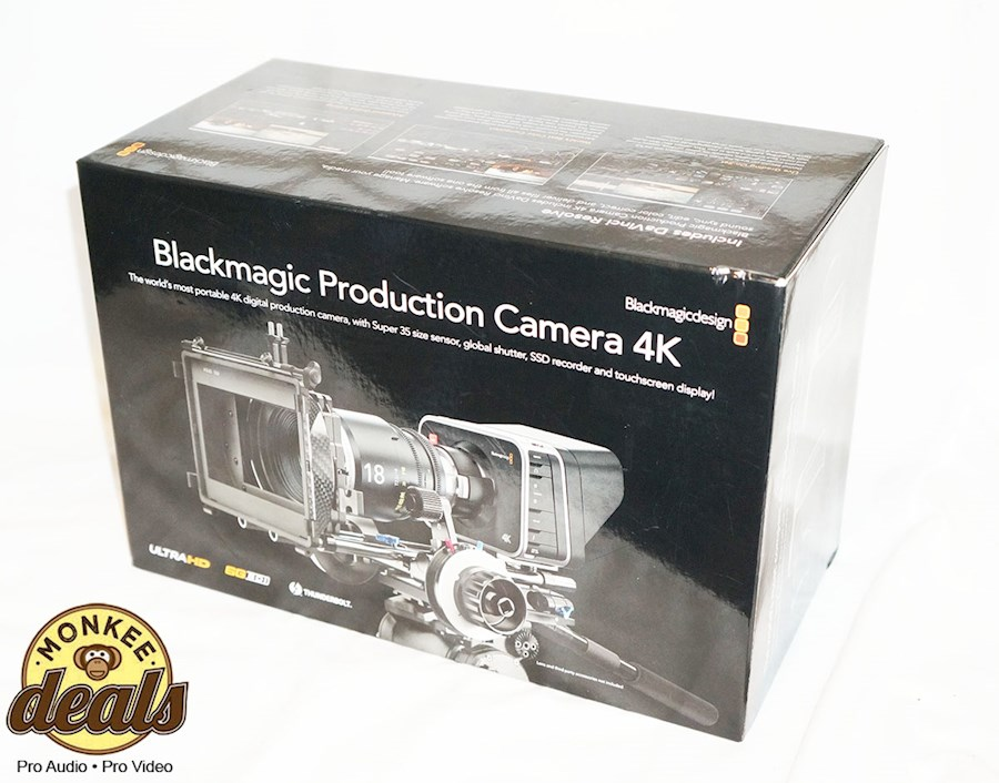 Huur een Black magic production camera 4k EF mount in Kapelle van Rick