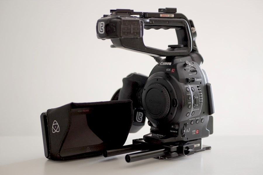 Rent a Canon C100 mk.1  DAF+ Atomos Ninja Blade+ Zacuto Recoil rig in Hilversum from Tim