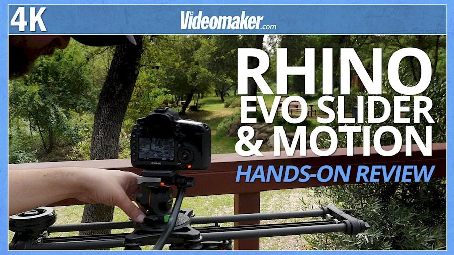 """Huur een Rhino Evo Motion 24"""" Slider voor video en timelapse huren in Den Haag van Robert"""