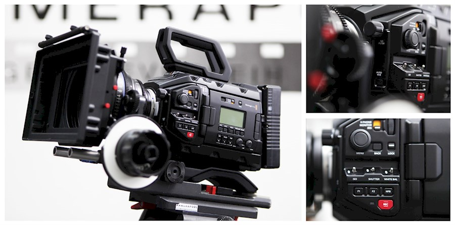 Rent a Blackmagic Ursa Mini Pro 4.6K (set) in Bunnik from Niels