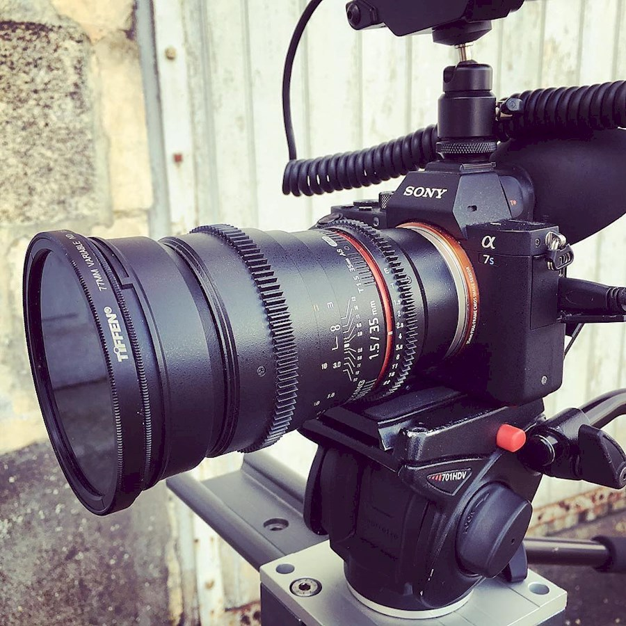 Rent a Sony A7sII zonder Geluid + EF/Canon lens adapter in Haarlem from Anthony