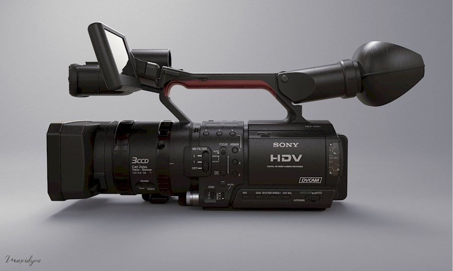 "Rent Sony HVR-Z1U 1/3"" 3-CC... from Jop"