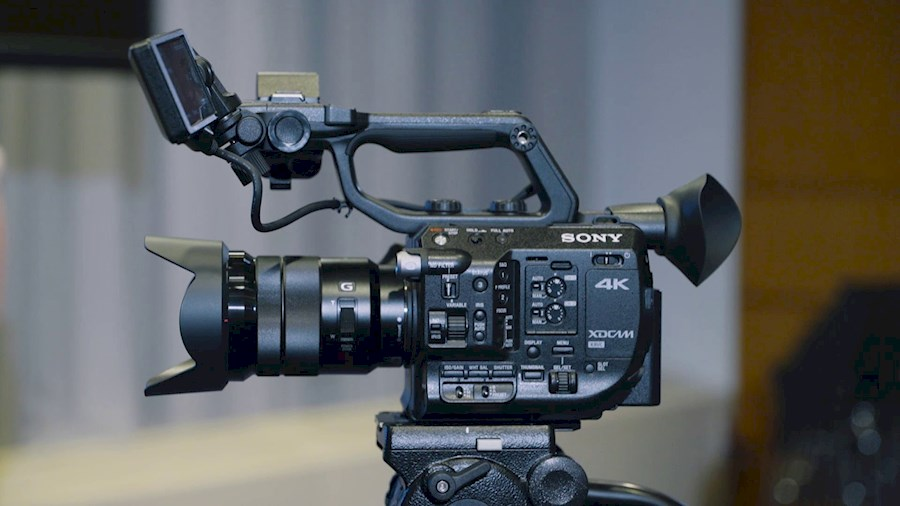 Rent Sony FS5 from Bart