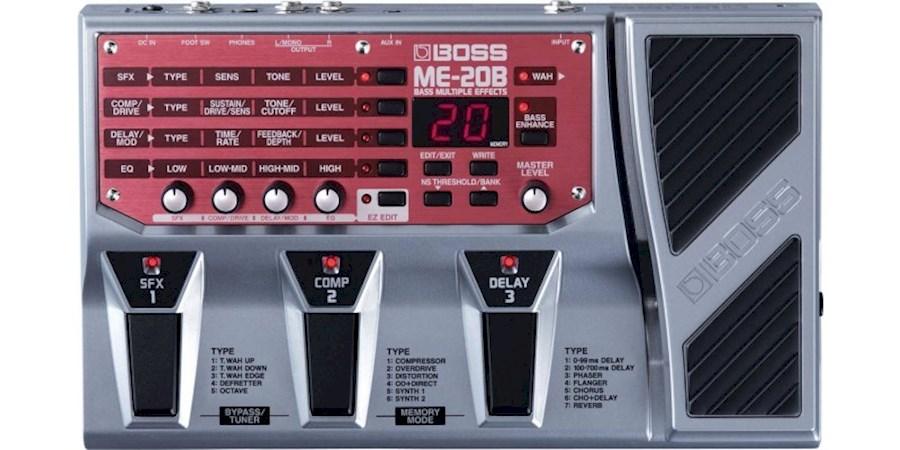 Huur een Boss ME-20B effectpedaal voor basgitaar in Krimpen aan den IJssel van Jorris