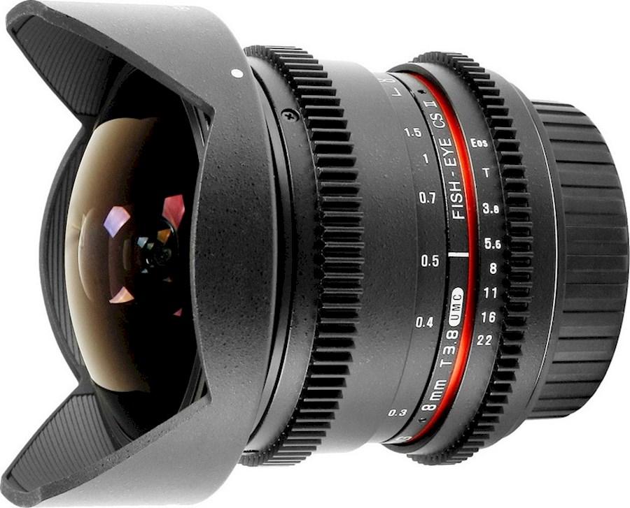 Rent a Samyang 8mm lens E-Mount in Den Haag from Ron de Cameraman