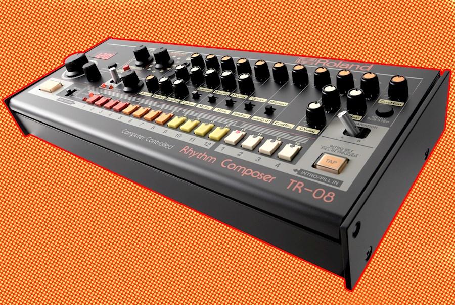 Huur een Roland TR-08 (TR-808) Drumcomputer in Rotterdam van ZERO CROSSING