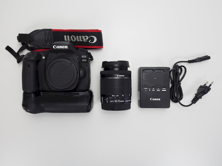 Rent a Canon 80D + 18-55mm + accugrip