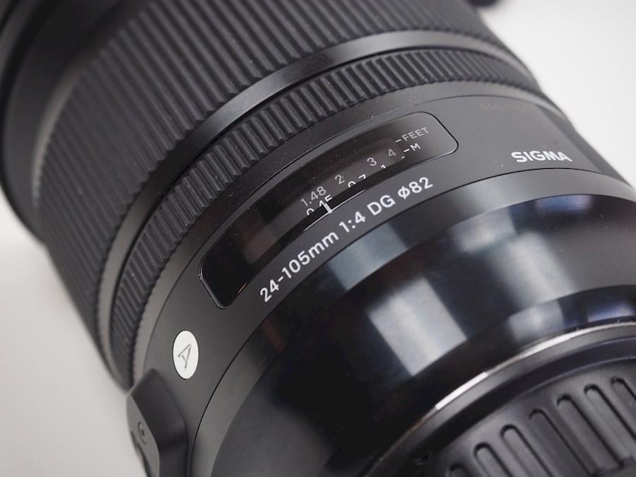 Rent Sigma 24-105 f4 (tas +... from Tuur
