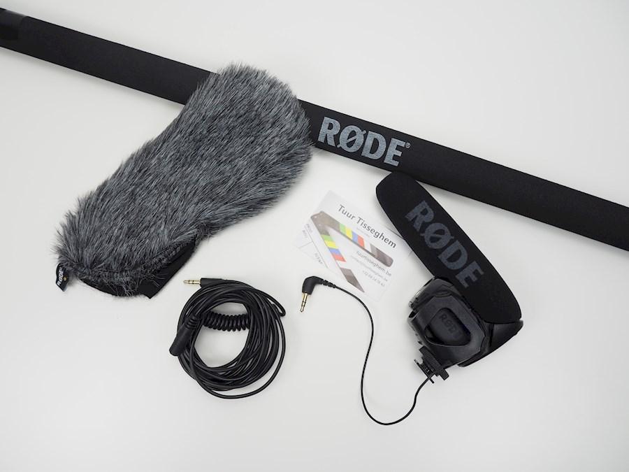 Rent a Røde Video Mic Pro + deadcat + boompole + verlengkabel in Zwalm from Tuur