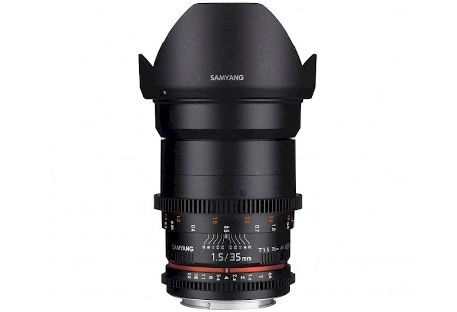 Huur Samyang 35mm T1.5 AS U... van Bas