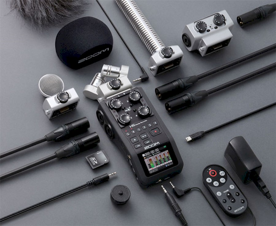 Rent ZOOM H6 Recorder + Acc... from Bas