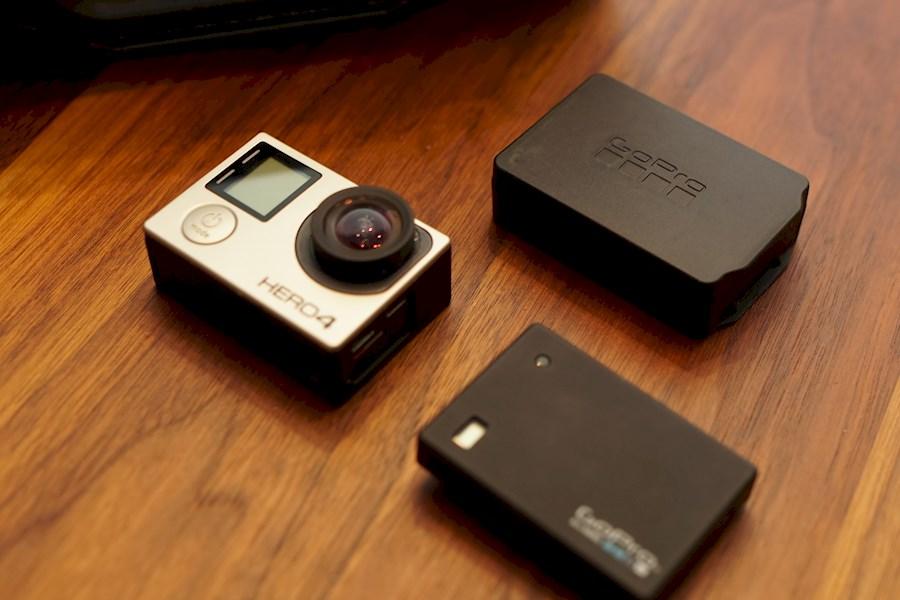 Rent a GoPro Hero 4 Black NO FISHEYE LENS 3.6mm f2 fisheye-vrije gopro met battery bacpac in Eindhoven from EXVERSA