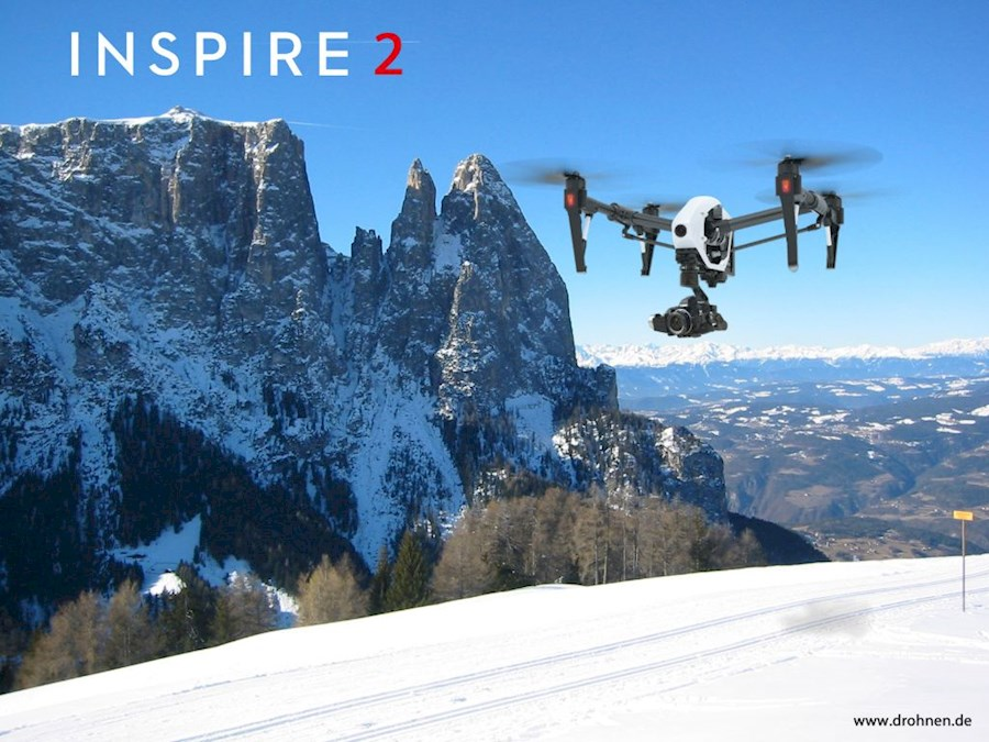 Rent a Inspire 2 (DJI) in Amsterdam from EVENTPRODUCENT