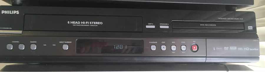 Rent a Philips DVDR 3432V DVD RECORDER/ VCR in Alkmaar from DJ Buzz Aldrin