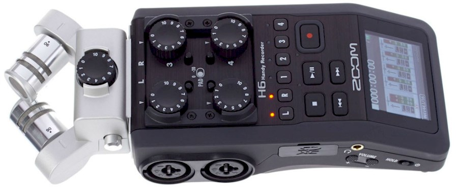 Rent Zoom H6 recorder from Paula