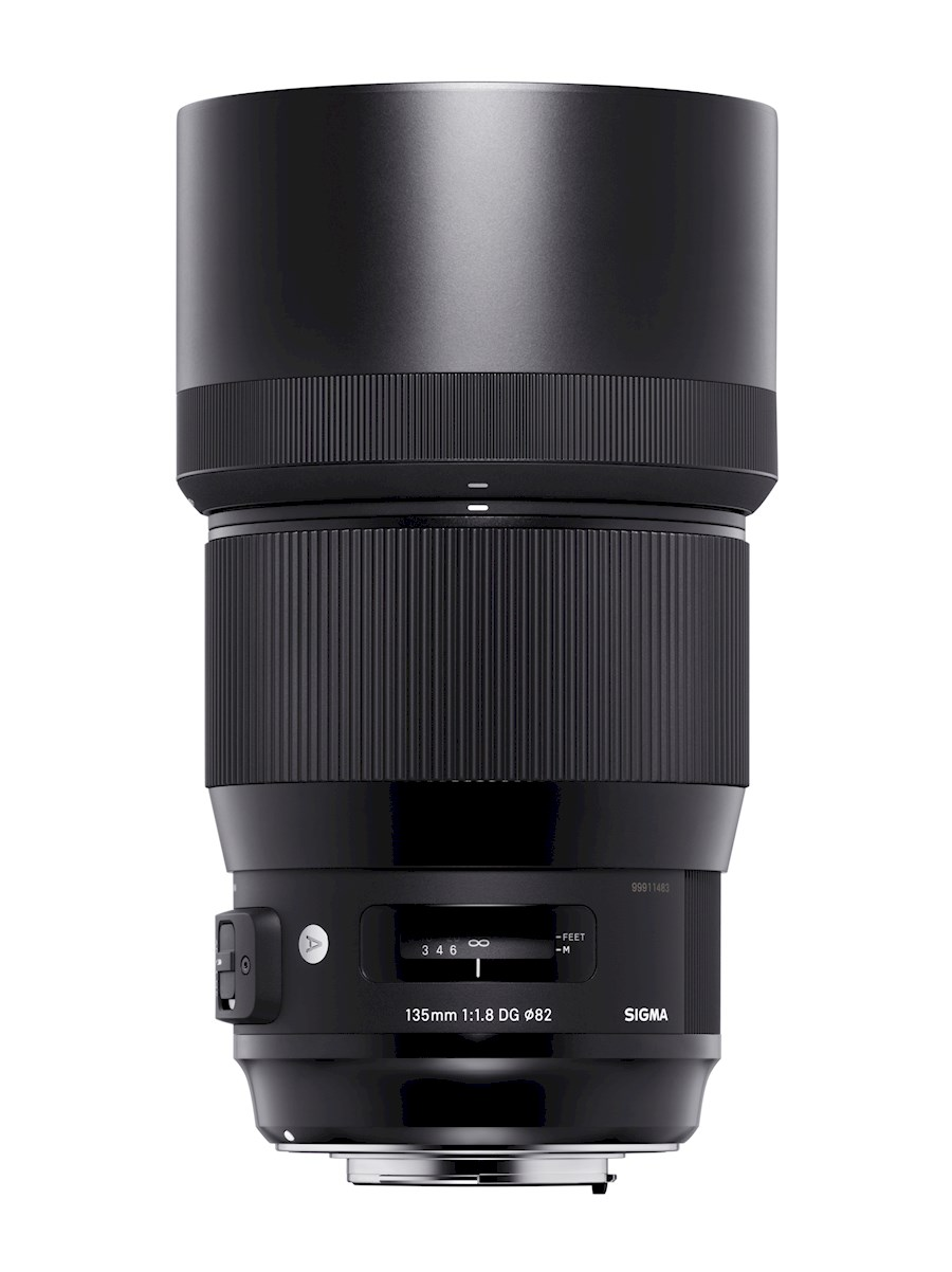 Rent a 135mm F1.8 DG HSM | ART CANON in Rotterdam from SIGMA BENELUX B.V.