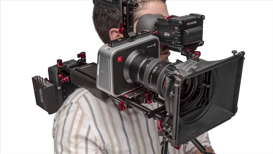 Rent a BlackMagic Production Camera 4K  met rig in Valthe from Tobias