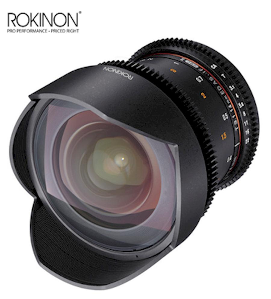 Huur een Rokinon Cine DS, 14mm, T3.1 wide angle prime, EF mount in Rotterdam van HANHOEZEN.COM