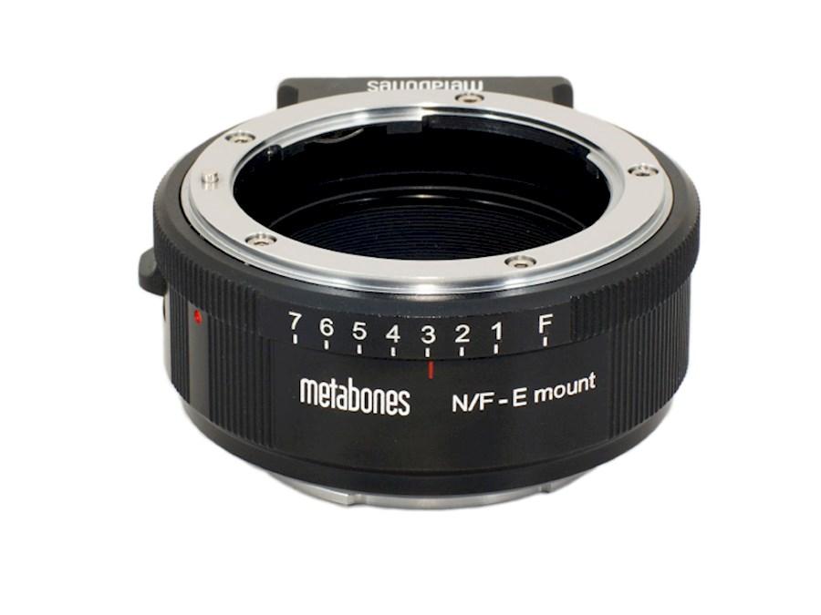 Huur Metabones N/F - E mount van ENROKMEDIA