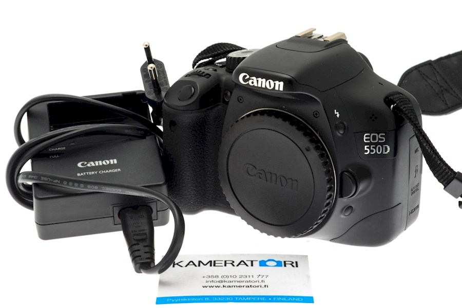 Rent a Canon 550D Body in Warmond from Niels