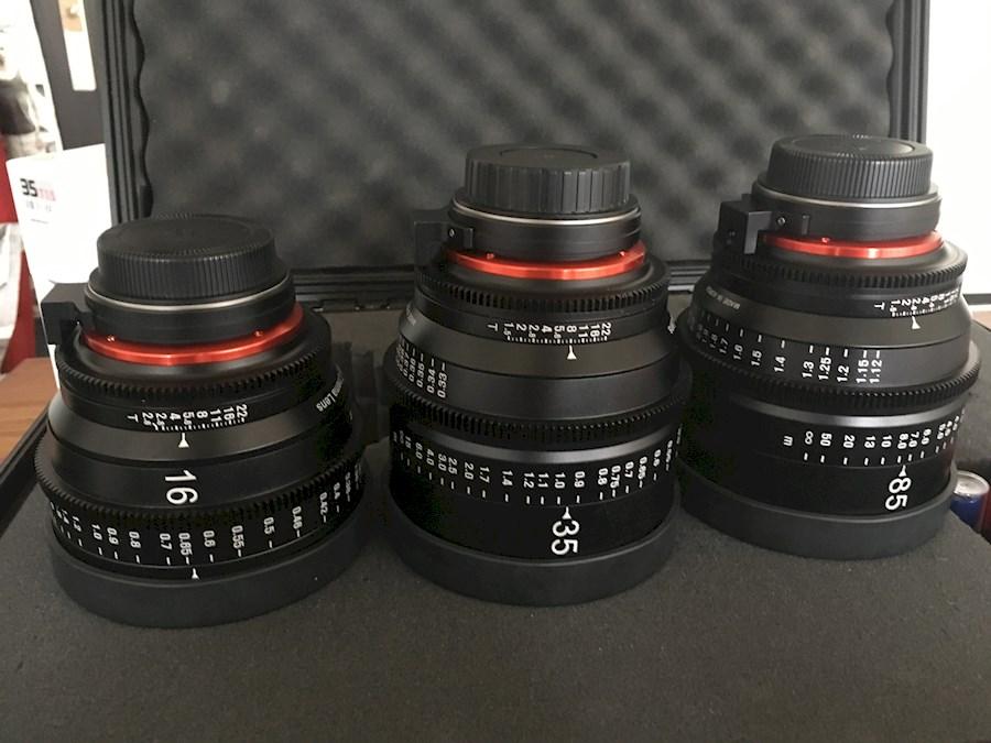 Huur een Xeen Cine lens set 3 stuks in Culemborg van Tim
