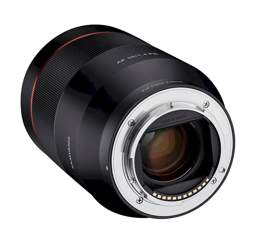 Rent a SAMYANG AF 35mm F/1.4 | Sony E-mount in Nieuw-Vennep from TRANSCONTINENTA B.V.