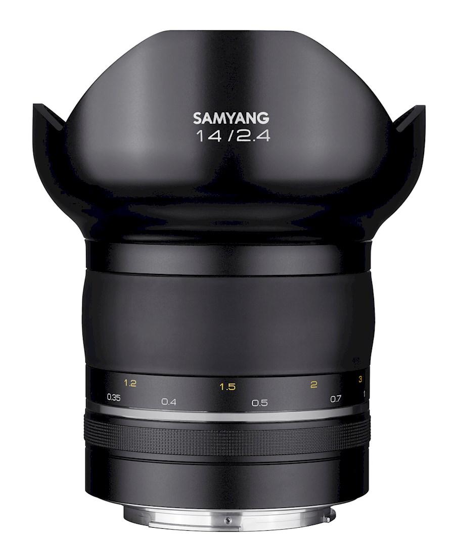 Huur een SAMYANG XP 14 mm F/2.4 | Canon in Nieuw-Vennep van TRANSCONTINENTA B.V.