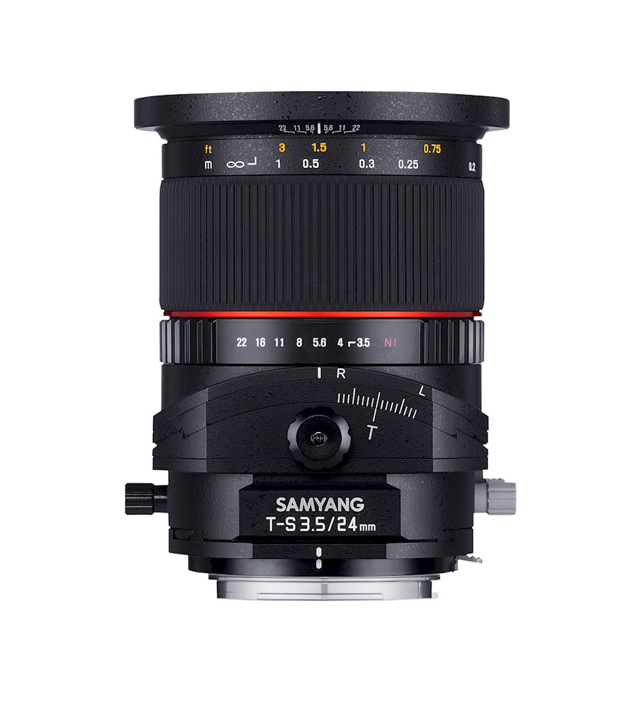 Huur een SAMYANG 24mm TILT/SHIFT F/3.5 ED AS UMC | Canon in Nieuw-Vennep van TRANSCONTINENTA B.V.