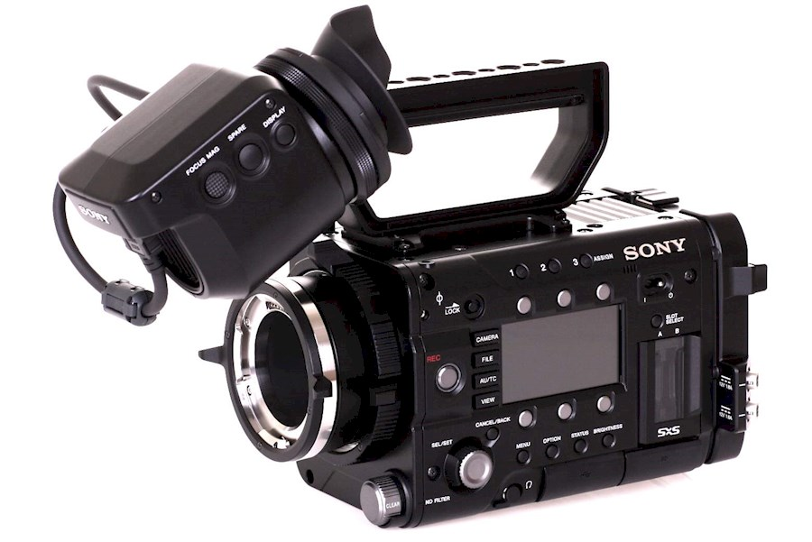 Rent Sony camera F5 from M VAN DEN BRINK