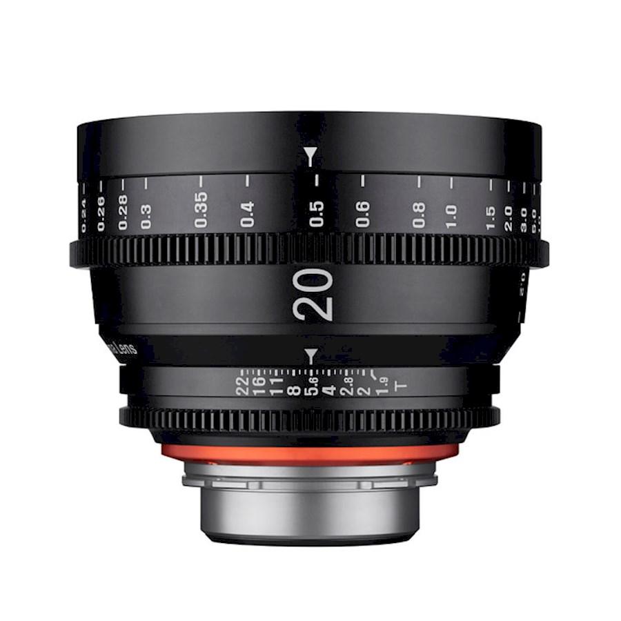Huur een XEEN 20 mm T1.9 FF Cine  Canon EF in Nieuw-Vennep van TRANSCONTINENTA B.V.