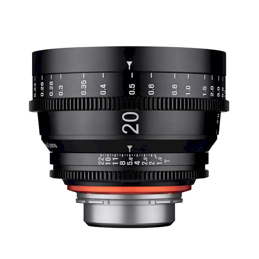 Rent a XEEN 20 mm T1.9 FF Cine  Canon EF in Nieuw-Vennep from TRANSCONTINENTA B.V.