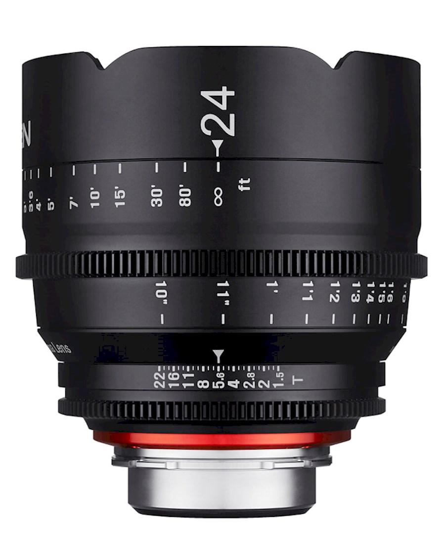 Huur een XEEN 24 mm T1.5 FF Cine | Canon EF in Nieuw-Vennep van TRANSCONTINENTA B.V.