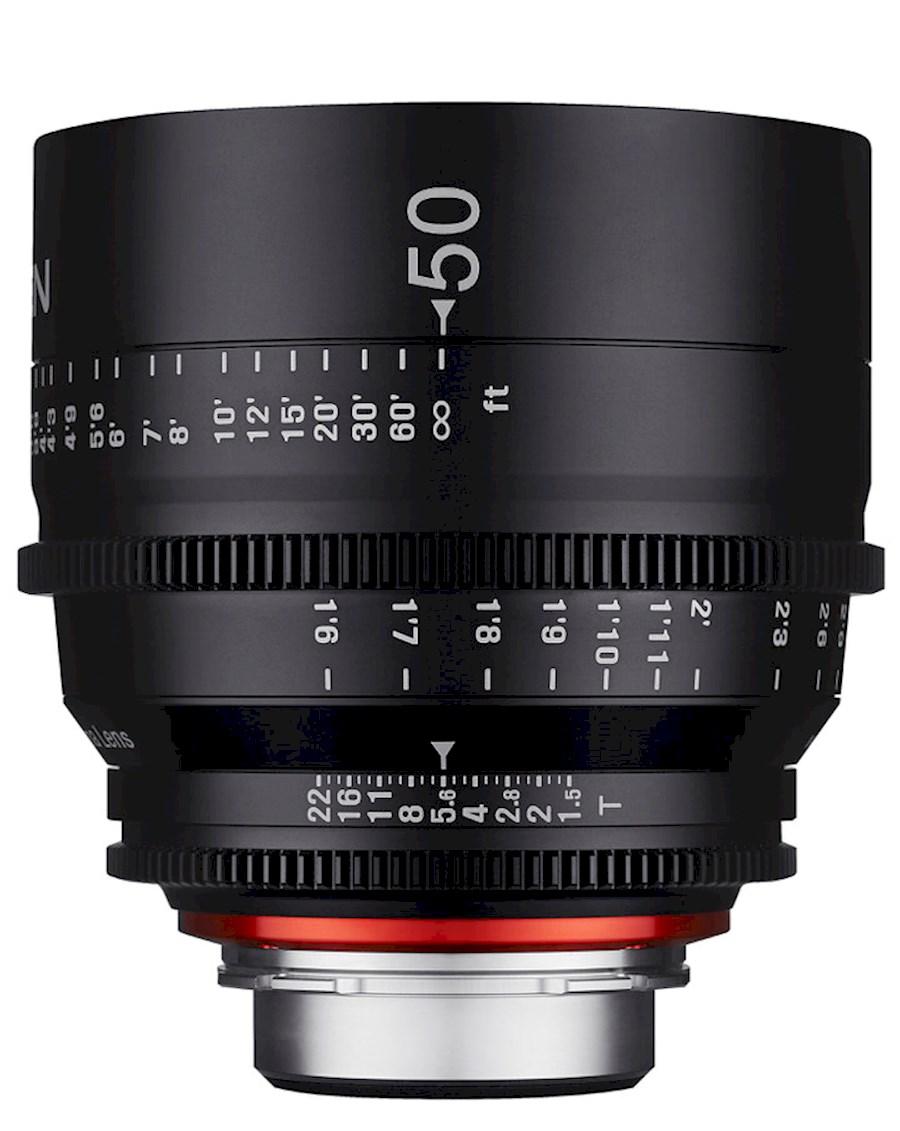 Huur een XEEN 50 mm T1.5 FF Cine | Canon EF in Nieuw-Vennep van TRANSCONTINENTA B.V.