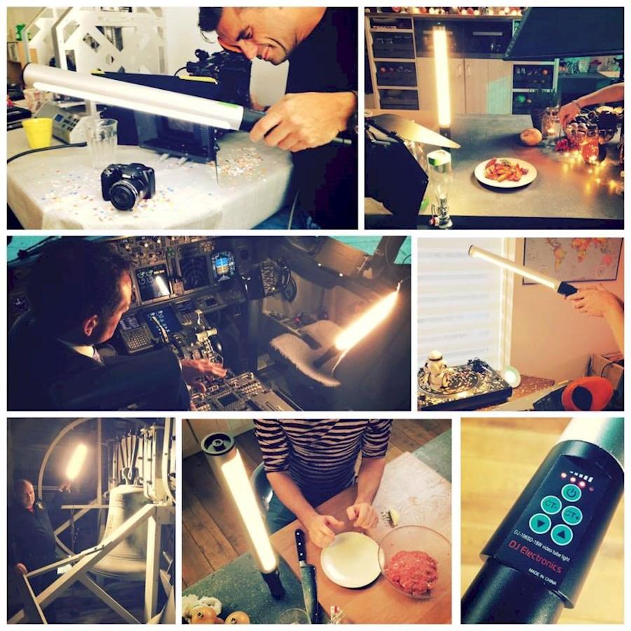 Rent a DJ106-SD 18W BiColor LED lighttube - De bekende multifunctionele BiColor LED Tube