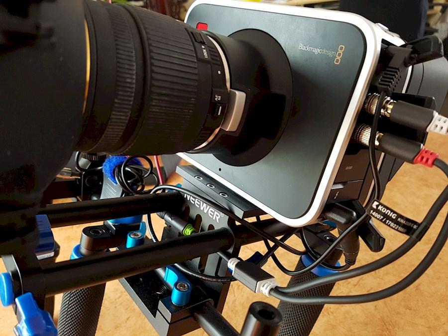Rent a Blackmagic Cinema Camera 2.5k EF incl. lens, rig en externe accu in Veldhoven from Mike