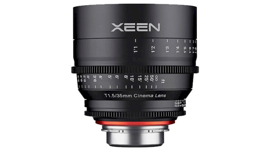 Rent Xeen 35mm T1.5 from Striking Video
