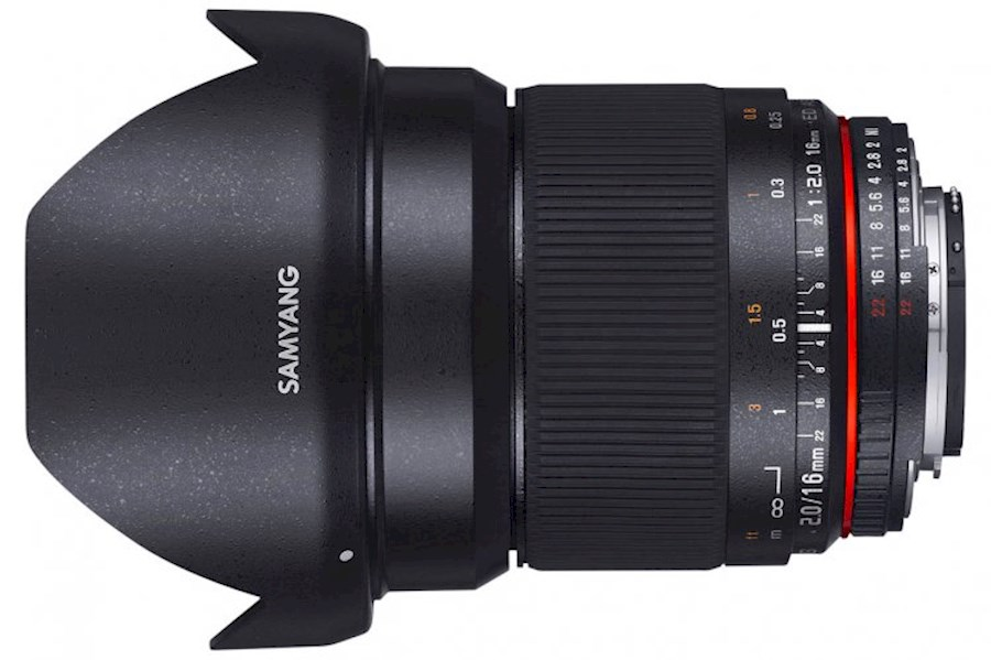 Rent a Samyang 16mm F/2.0 ED AS UMC MFT in Stadskanaal from DURK DE BOER MULTISERVICE