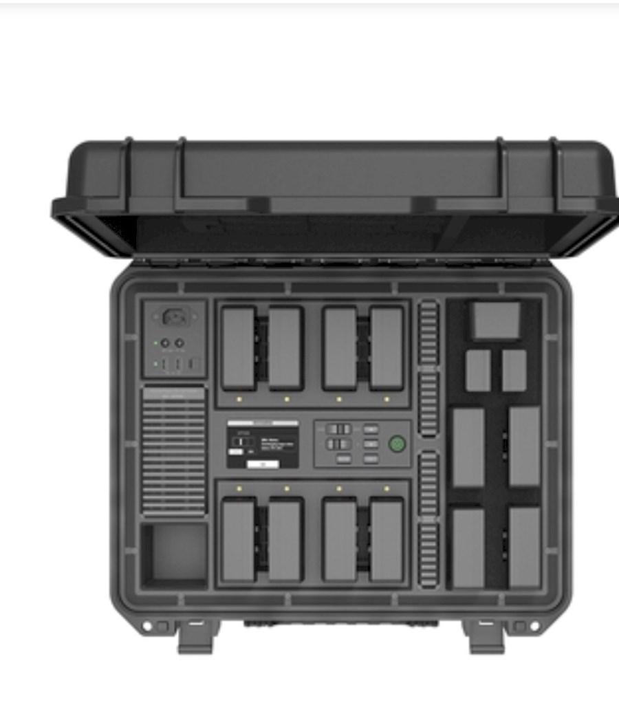 Rent a DJI battery Chargestation for TB50 Inspire2 accu's in Amersfoort from M ENKELAAR