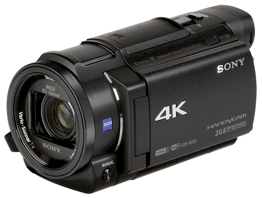 Rent SONY FDR-AX33 4K CAMCO... from Chantal